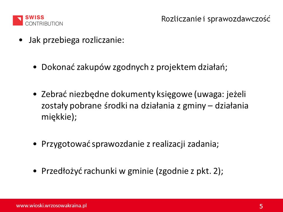 www.wioski.wrzosowakraina.pl 6 Rodzaje działań: Twarde Miękkie Wskaż działania twarde i działania miękkie w swojej miejscowości zrealizowane w ramach FS.