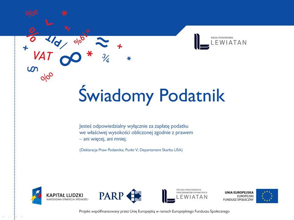 Świadomy Podatnik projekt Rady Podatkowej PKPP Lewiatan www.radapodatkowa.pl