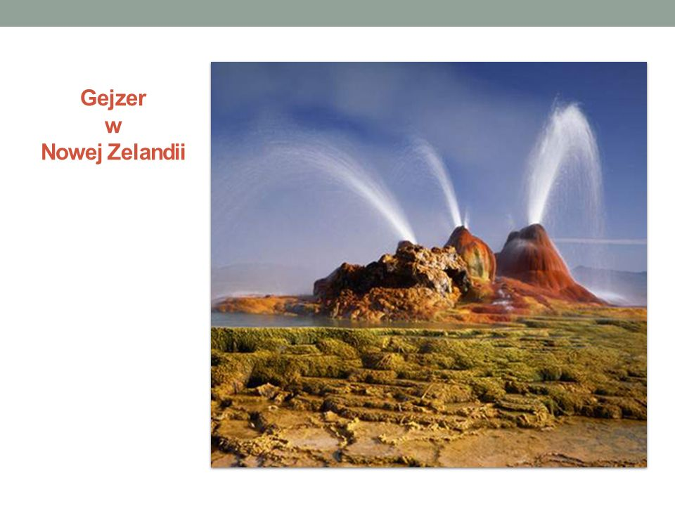 Wykorzystywanie energii geotermalnej Roczny światowy potencjał energii geotermalnej odpowiada około 35 mld ton węgla kamiennego, jednak na powierzchnię ziemi wydostaje się zaledwie 1% tych wszystkich zasobów.