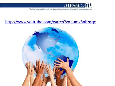 HISTORY OF AIESEC AIESEC is a global, non-political, independent, not-for-profit organization. It was established.
