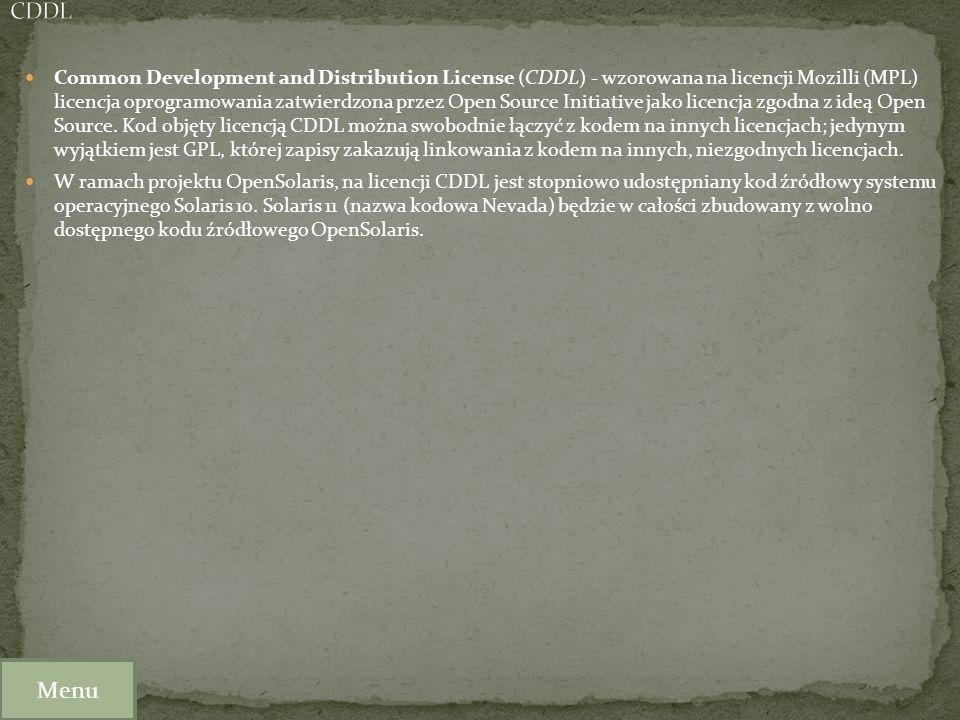 CPL (Common Public License) jest jedną z licencji wolnego oprogramowania, która została sformułowana w 1988 przez IBM.