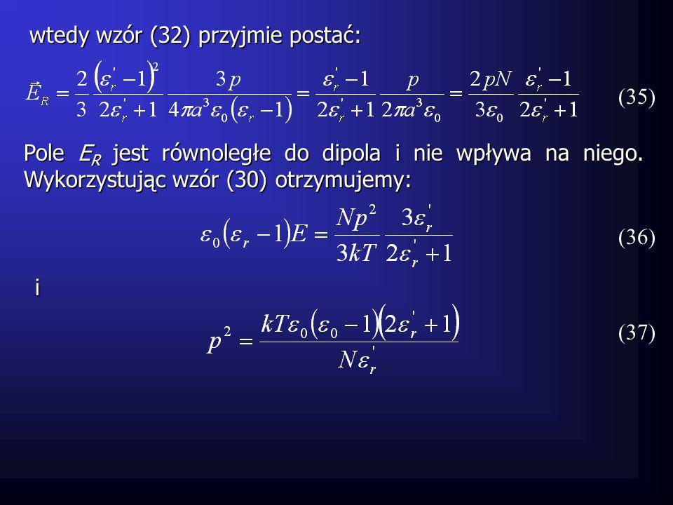 gdzie n jest indeksem optycznym ośrodka (n=c/v).