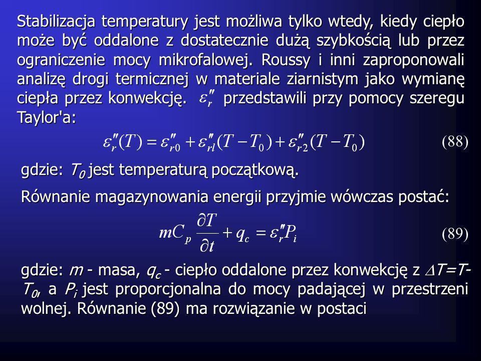 Można pokazać, że jeśli to T zmierza do wartości skończonej i system jest stabilny.