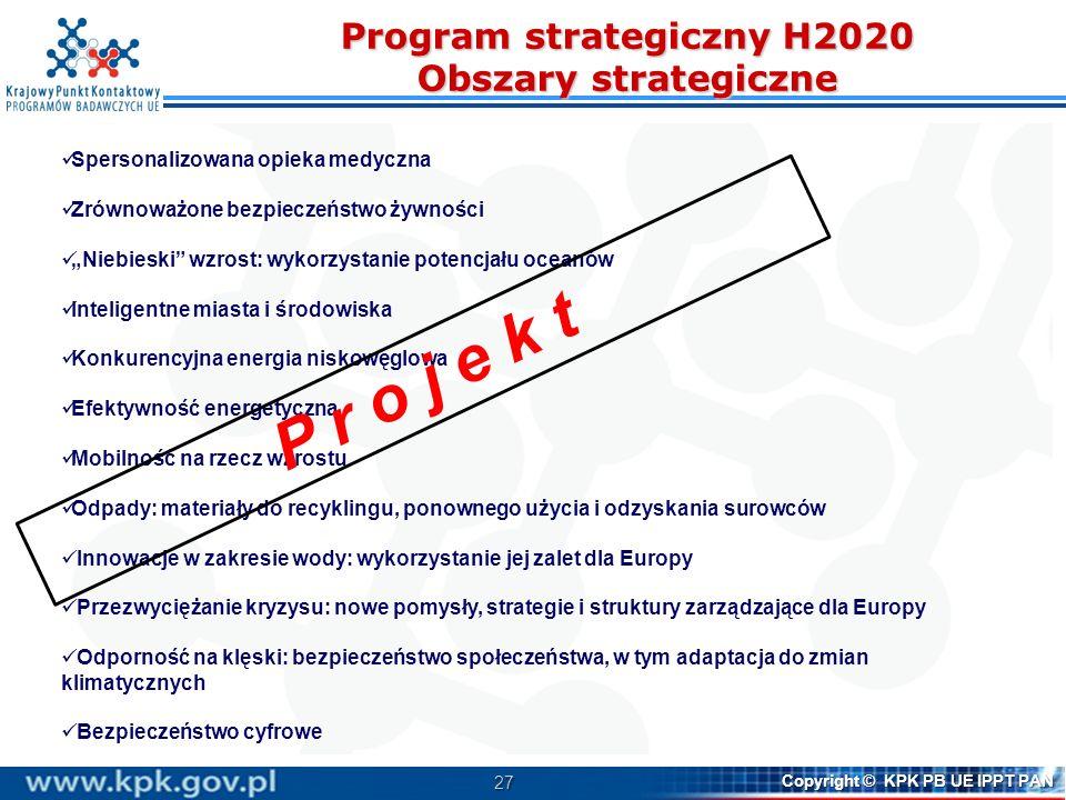 28 Copyright © KPK PB UE IPPT PAN Program pracy cechy Zakres tematyczny/podejście: odzwierciedlenie podejścia nakierowanego na sprostanie wyzwaniom (challenge- based approach) szeroko zdefiniowane tematy swoboda proponowania innowacyjnych rozwiązań Elementy programu pracy: Wskazanie wyzwania Kontekst, problem, dlaczego konieczne jest działanie Cel sprecyzowanie celu (focus) i zakresu działania, ale bez nadmiernej szczegółowości Oczekiwany efekt (impact) kluczowe elementy – jakie efekty mają zostać osiągnięte w związku z wyzwaniem