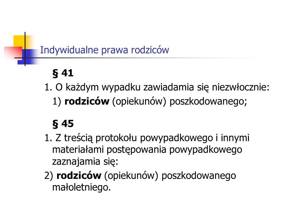Indywidualne prawa rodziców 2.
