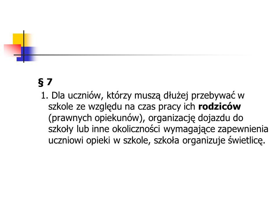 Indywidualne prawa rodziców § 8 2.