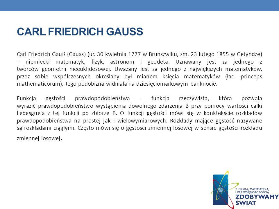 QUIZ Z jakiego kraju pochodzi Gauss.Z Niemiec. 2.