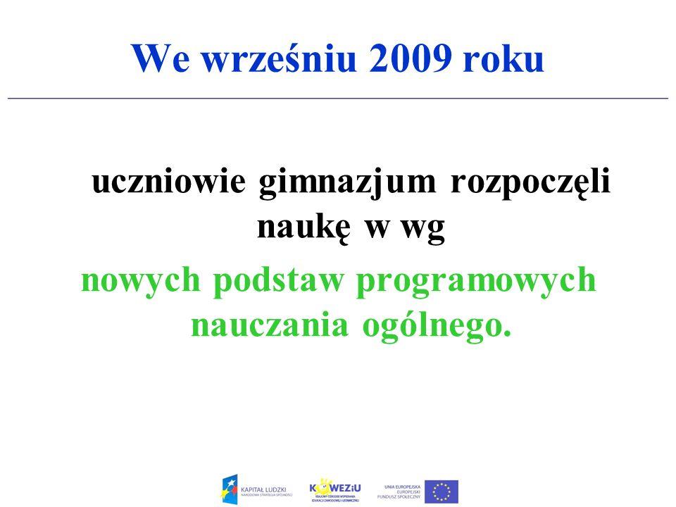Rozporządzenie MEN z dnia 23 grudnia 2008 r.( weszło w życie 30 stycznia 2009 r.) w sprawie podstawy programowej wychowania przedszkolnego oraz kształcenia ogólnego w poszczególnych typach szkół, które w pewien sposób połączyło 2 etapy kształcenia tzn: