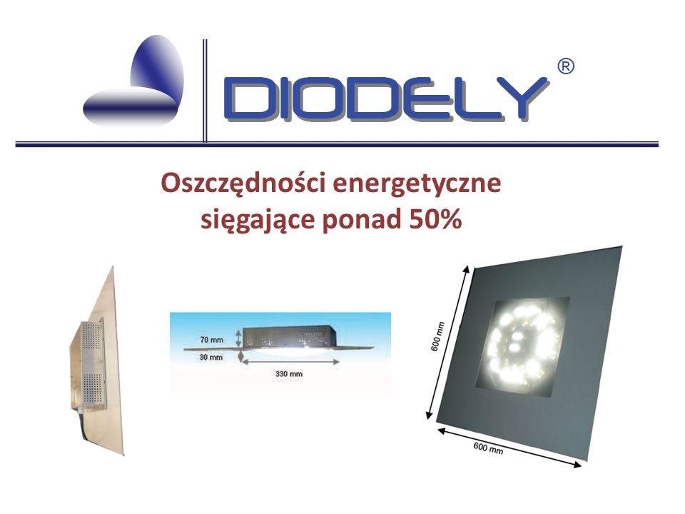 DIODELY jest nową generacją oświetlenia stworzonego na bazie LED i przystosowanego do użytku wewnętrznego.