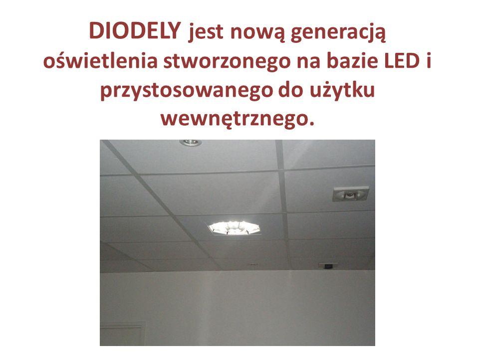 Unikalna jakość światła DIODELY zapewni doskonałą jakość oświetlenia miejsca pracy, zgodną z normą EN 12464.