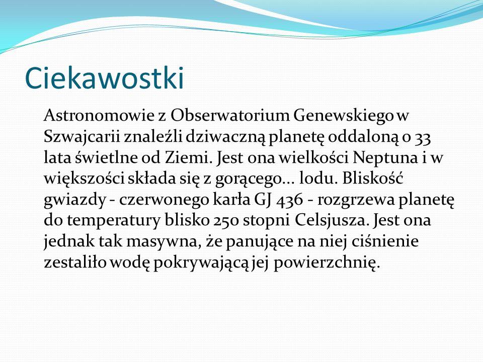 Polscy naukowcy Odkryta przy współudziale astronomów z Polski planeta OGLE-2005-BLG-390Lb ma własności wyjątkowe pośród ponad 170 znanych planet pozasłonecznych - informuje najnowszy numer Nature .