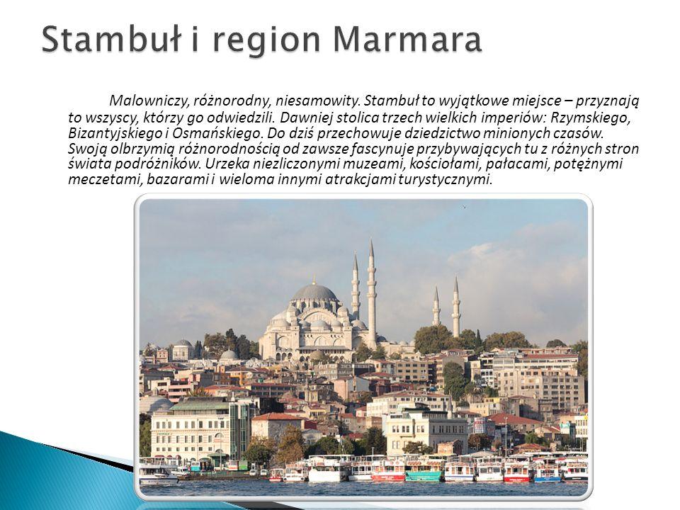 Izmir to tureckie miasto położone na egejskim wybrzeżu.