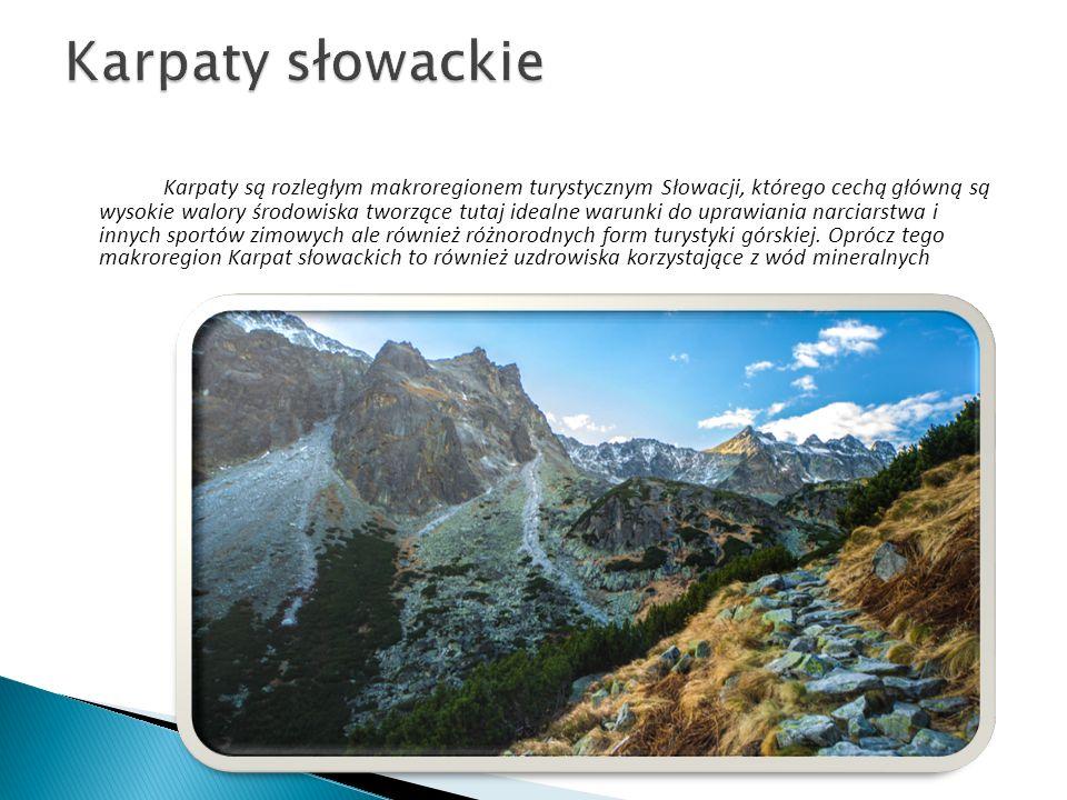 Dolina Demianowska jest najbardziej znaną i najpiękniejszą doliną w Niżnych Tatrach.