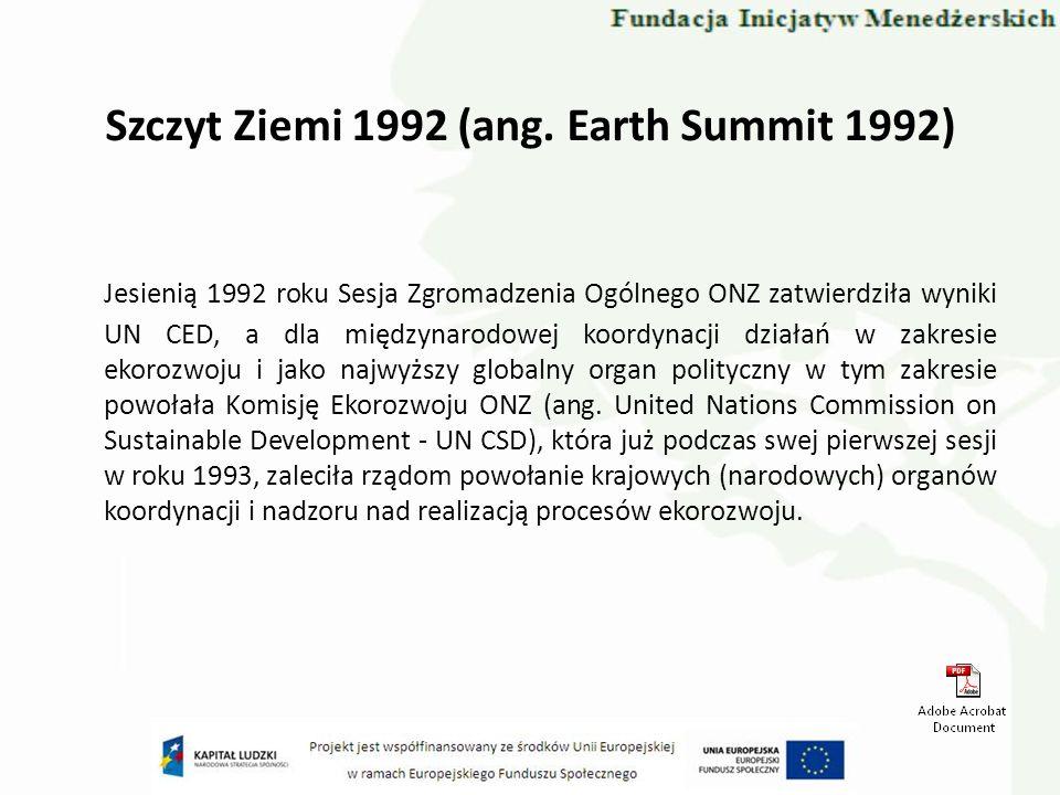 Biała Księga UE (1997) Promocja energii elektrycznej z OZE stanowi priorytet UE cele tego priorytetu przedstawiono w Białej Księdze w sprawie Odnawialnych Źródeł Energii.