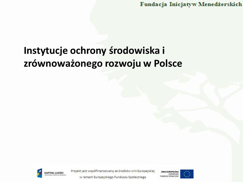 Komisja do spraw Ekorozwoju Komisja powołana przez Rząd Rzeczypospolitej Polskiej, Zarządzeniem nr 32 Prezesa Rady Ministrów z dnia 28 października 1994 roku.