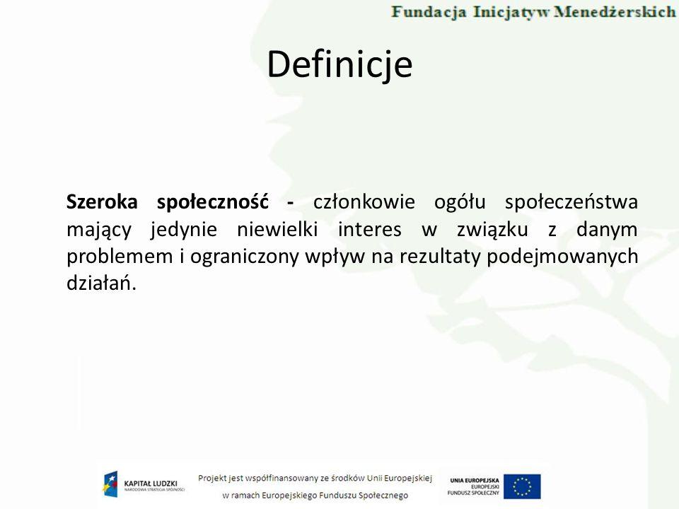 Ramowa Dyrektywa Wodna jako przykład dialogu społecznego Celem udziału społeczeństwa we wdrażaniu Ramowej Dyrektywy Wodnej jest umożliwienie społeczeństwu wpływu na proces opracowywania planów gospodarowania wodami i programów działań.