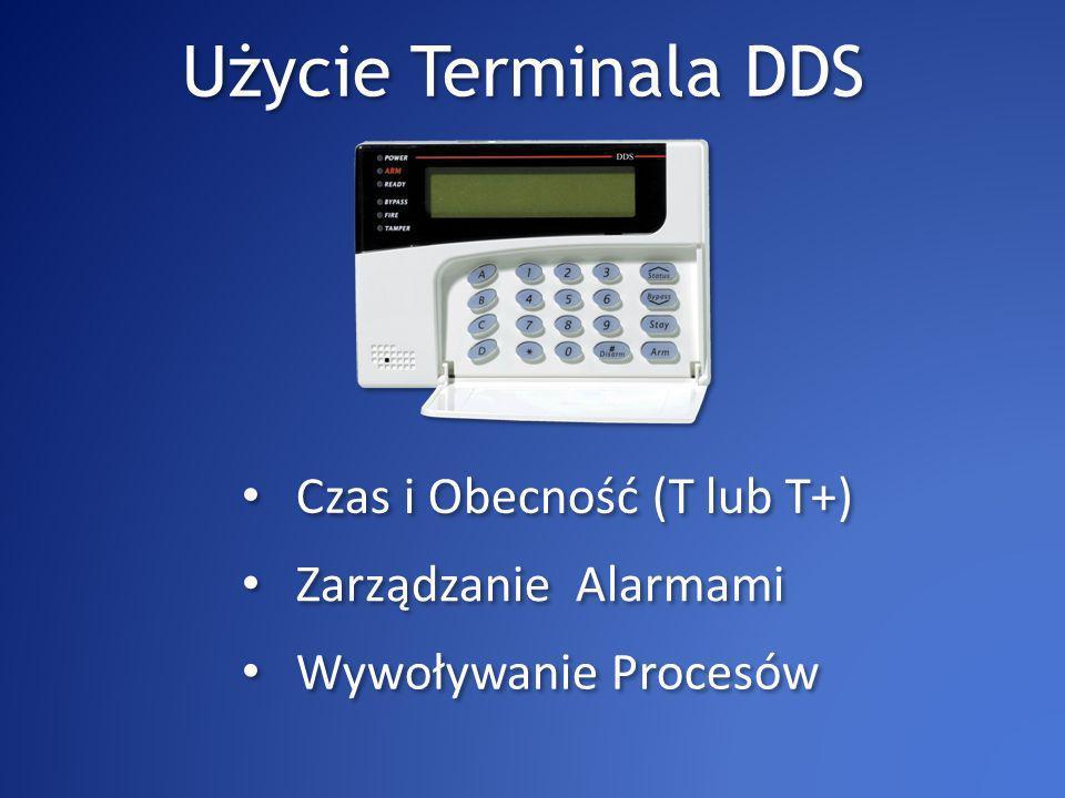 Czas i Obecność Wszystkie informacje wyświetlane są na wyświetlaczu LCD Typ transakcji (Wejście / Wyjście) Data i Czas Numer karty (Num_Badge) Różne typy wyjść (Posiłek, Szkolenia itd) Uwaga: Domyślnie przekaźniki są nieaktywowane.