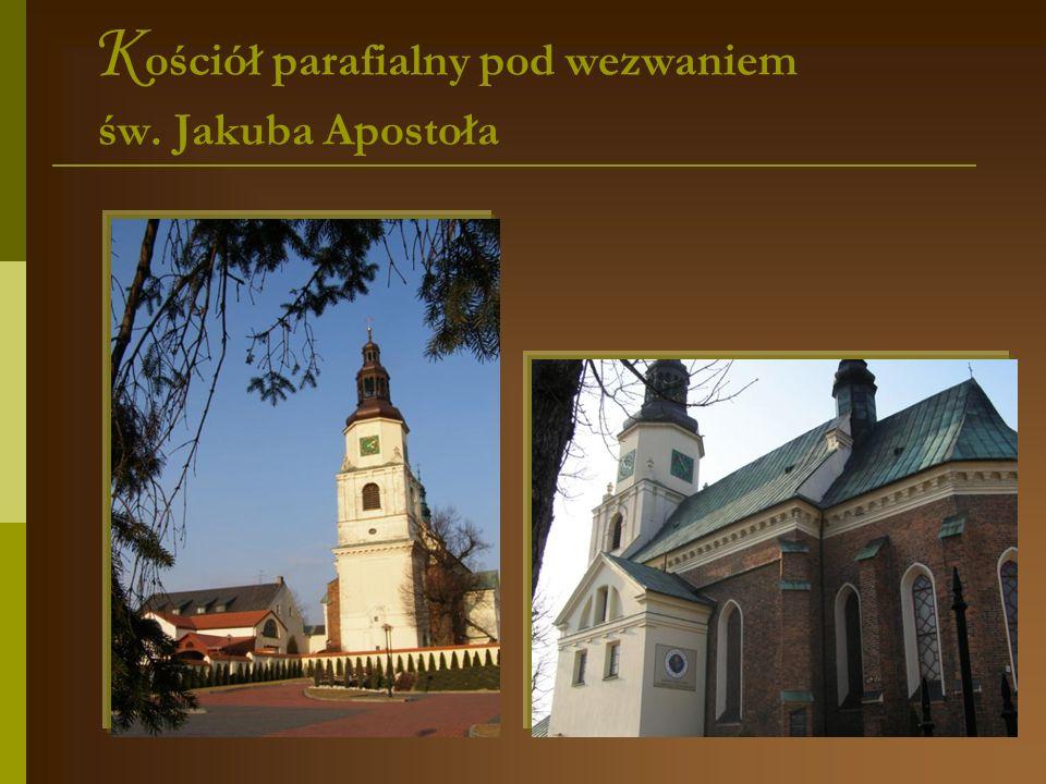 P iękno parafialnej świątyni W Krzepicach zachował się średniowieczny układ rynku z kościołem św.