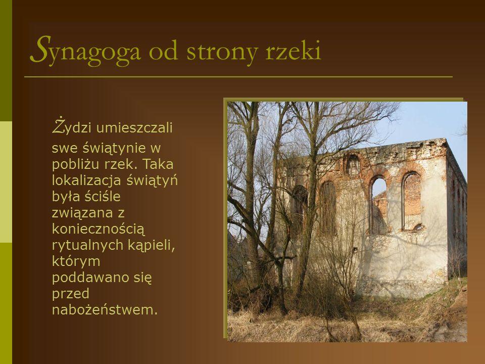 c mentarz żydowski...Ż ydowski cmentarz – kirkut powstał prawdopodobnie w XVIII w.
