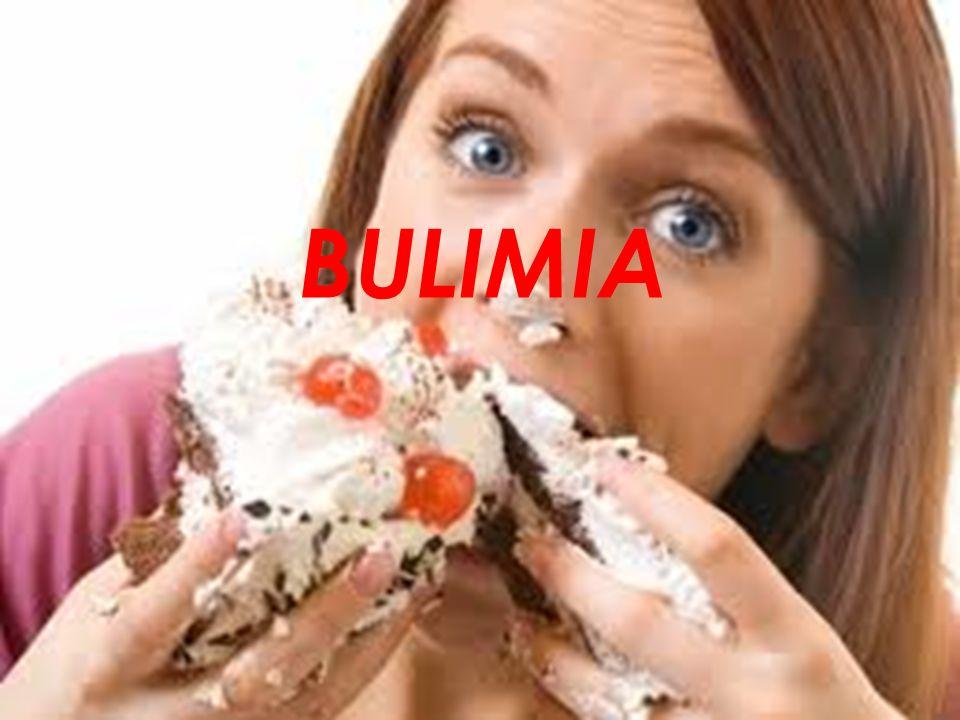 zaburzenie odżywiania charakteryzujące się napadami objadania się, po których występują zachowania kompensacyjne.