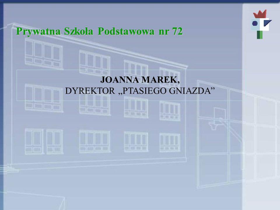Prywatna Szkoła Podstawowa nr 72 PODSTAWOWE ZASADY REKRUTACJI 1.Wyniki testów wstępnych.