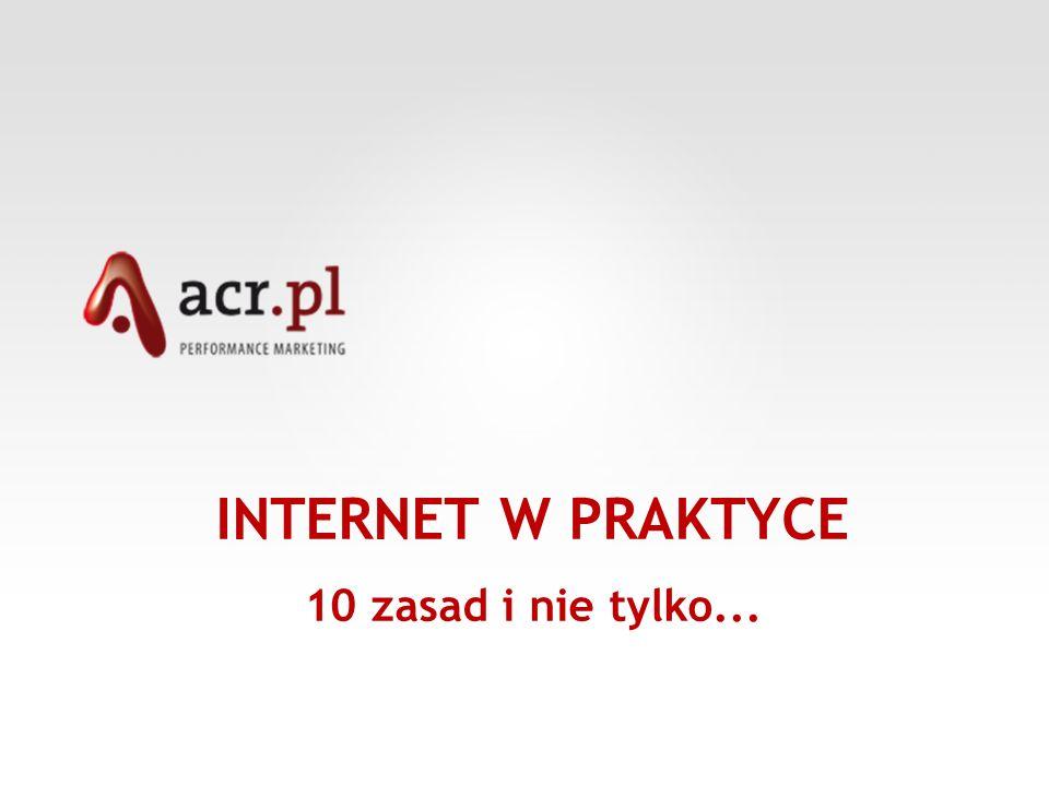 Po pierwsze ….badania Na polskim rynku funkcjonują dwa podstawowe badania internetowe.
