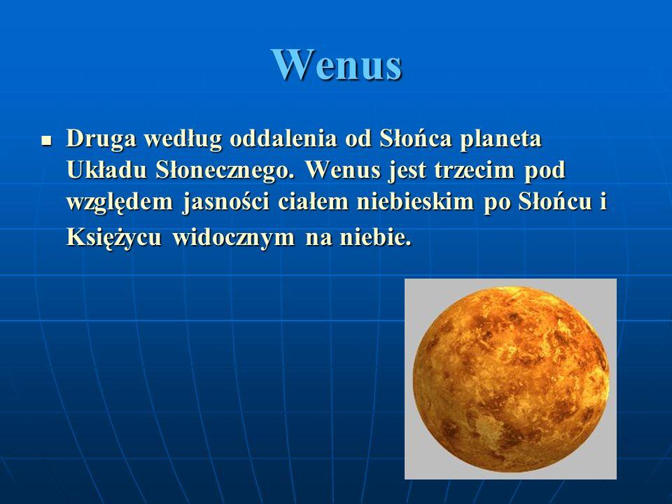 Ziemia Trzecia licząc od Słońca, a piąta co do wielkości planeta Układu Słonecznego.