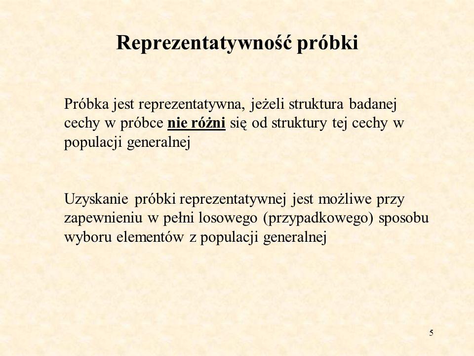 6 Populacja generalna (np.partia węgla 2500 ton) Populacja próbna (próbka) (np.