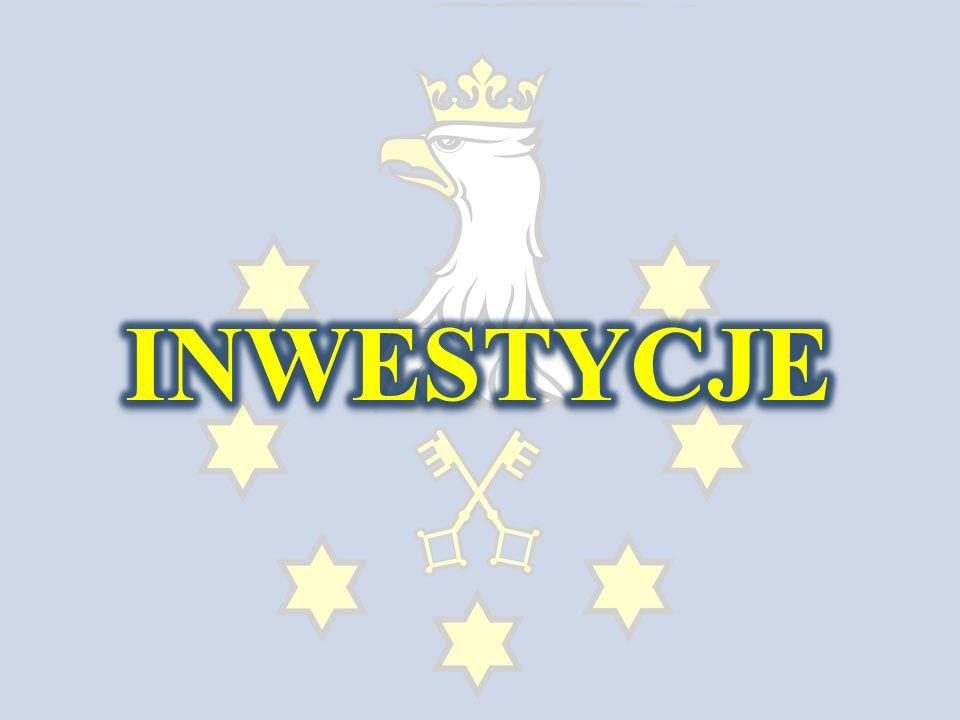 Inwestycje drogowe Znaki i poszerzenie jezdni