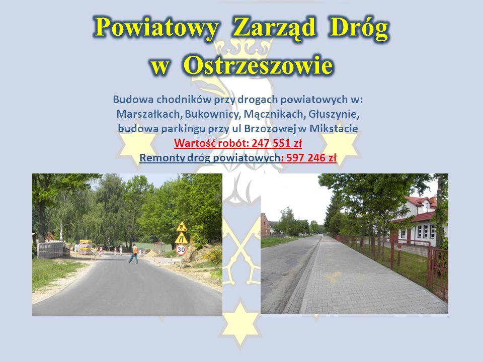 Termomodernizacja budynków instytucji użyteczności publicznej w Ostrzeszowie (projekt realizowany w ramach WRPO, wartość inwestycji: 4 094 342 zł.)