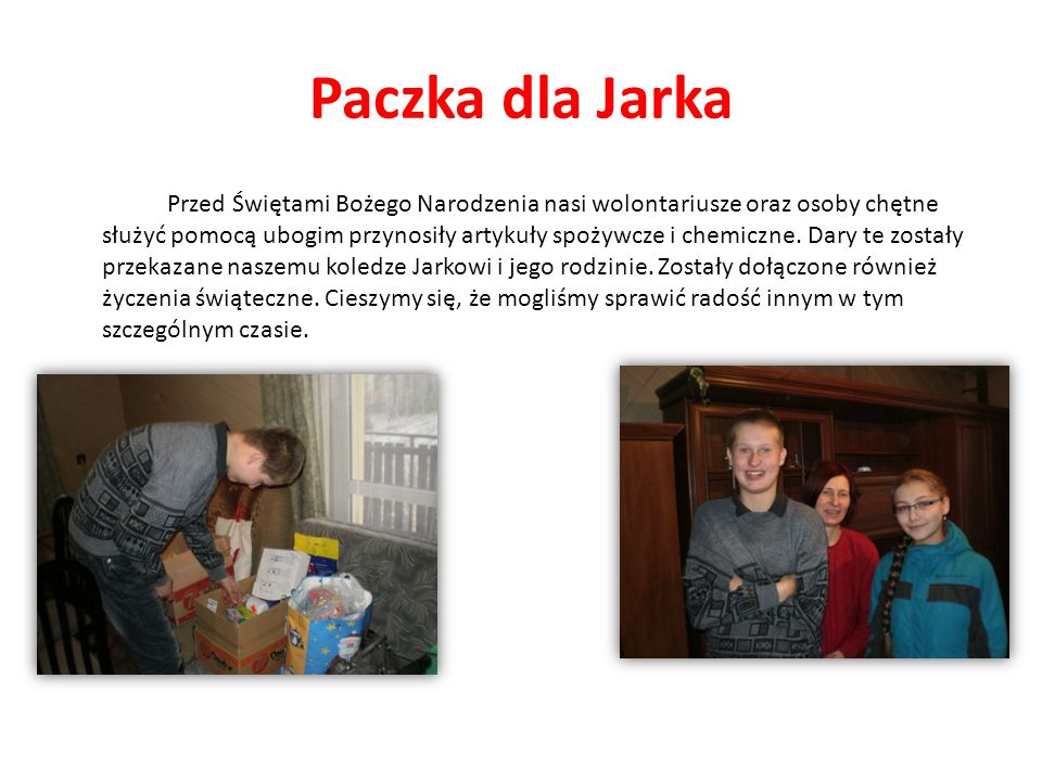 Podsumowanie Projektu Daria - Na oddziale opieki paliatywnej pomagam chorym i schorowanym osobom.