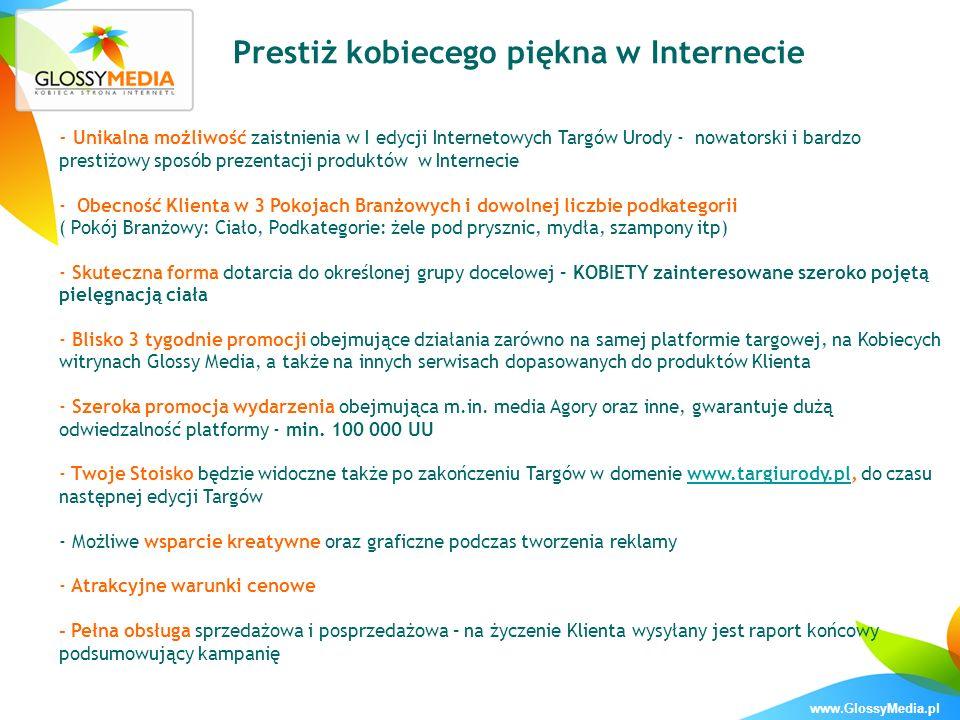 www.GlossyMedia.pl Promocja wydarzenia w mediach PATRONI MEDIALNI: