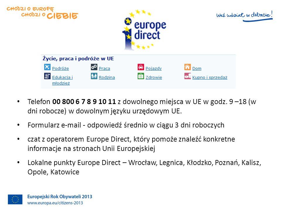 Europe Direct i Centra Dokumentacji Europejskiej
