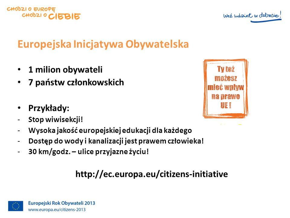 Konsultacje 2012 Sprawozdanie nt. Obywatelstwa UE - 8 maja 2013