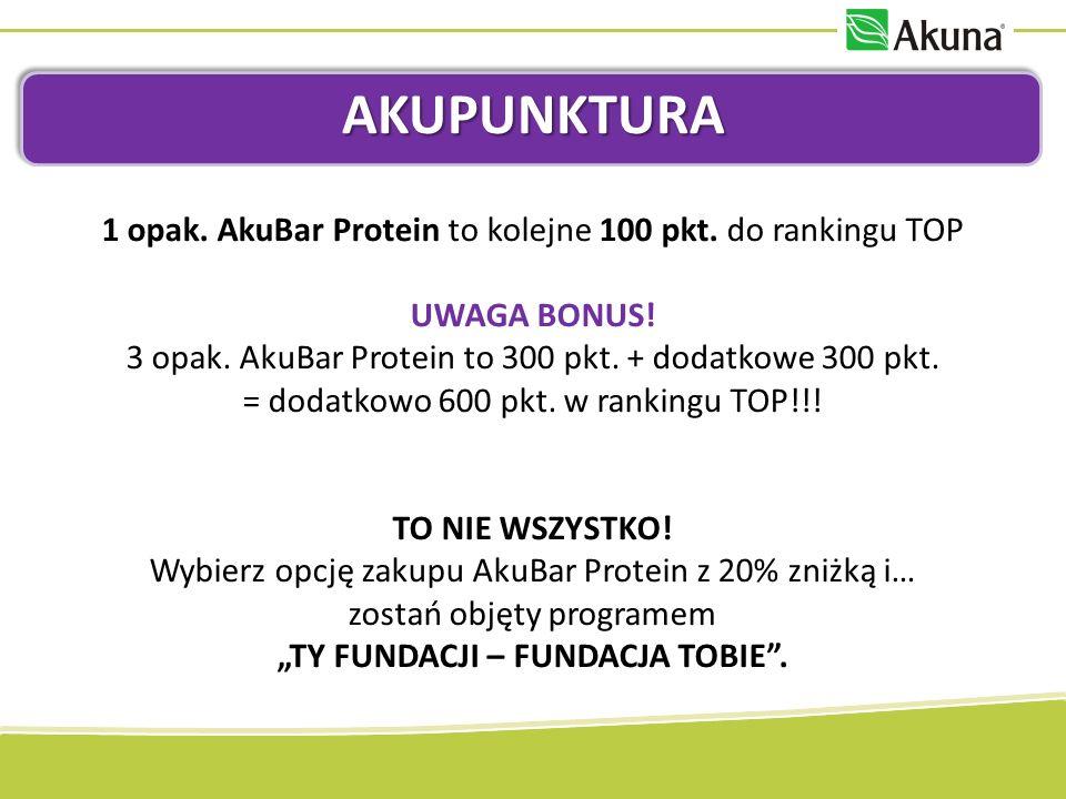 RANKING TOP10 I TOP 100 Punktuj w AKUpunkturze i walcz o wygraną.