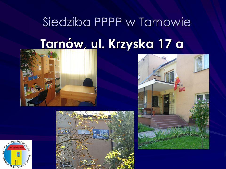 Filie PPPP w Tarnowie Filia w Tuchowie: ul.Wróblewskiego 1 Filia w Wojniczu: ul.