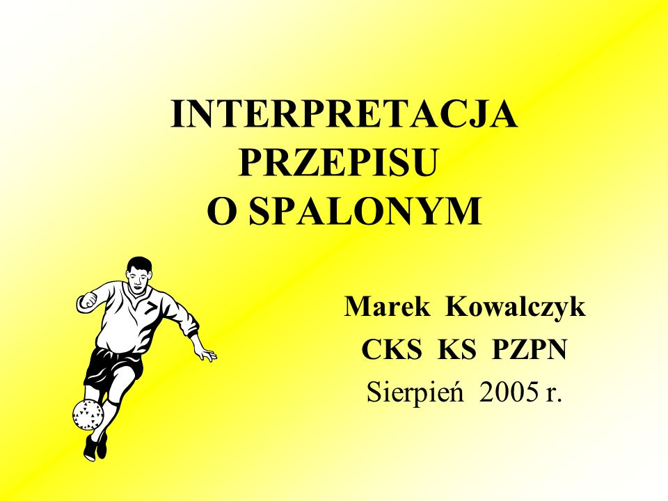 W interpretacji uwzględniono Okólnik nr 968 /17 maj 2005 r./ i Okólnik nr 987 z 17 sierpnia 2005 r.