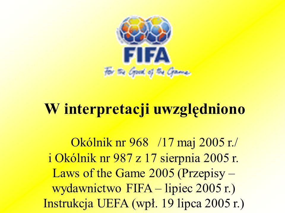 Nowe Rozstrzygnięcie 1 International F.A.