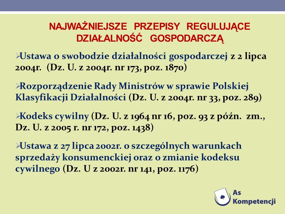 Ustawa z 11 marca 2004r.o podatku od towarów i usług ( Dz.