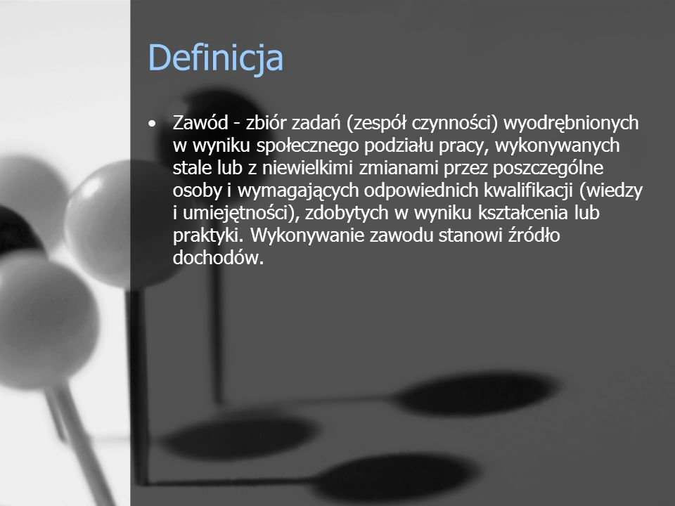 Polska nomenklatura zawodów [...