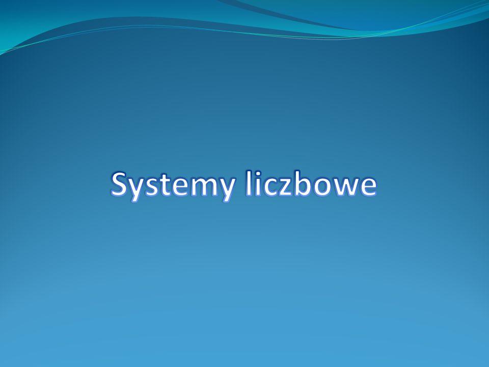 Dla nas, ludzi naturalnym sposobem prezentacji liczb jest system dziesiętny.
