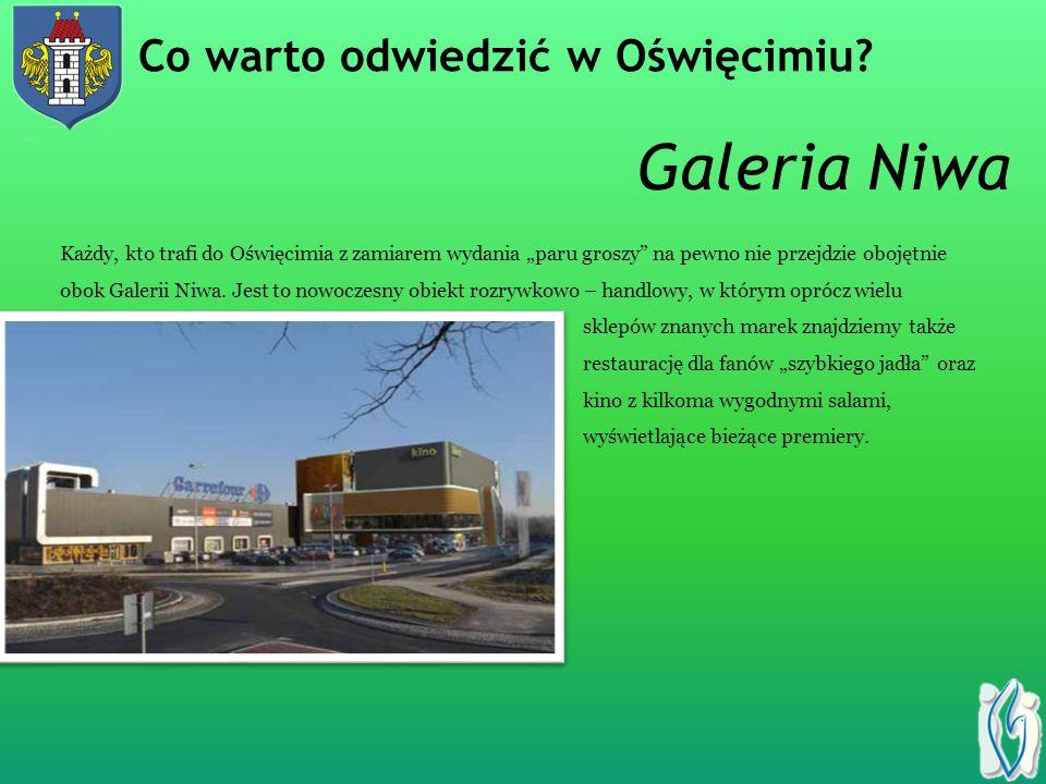 Galeria Niwa Każdy, kto trafi do Oświęcimia z zamiarem wydania paru groszy na pewno nie przejdzie obojętnie obok Galerii Niwa.