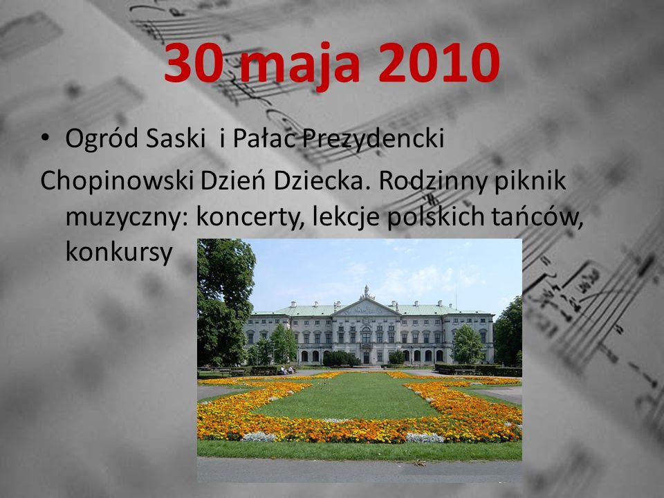 5 czerwca – 31 września 2010 W Muzeum Plakatu w Warszawie można obejrzeć wystawę pt.: Mój Chopin