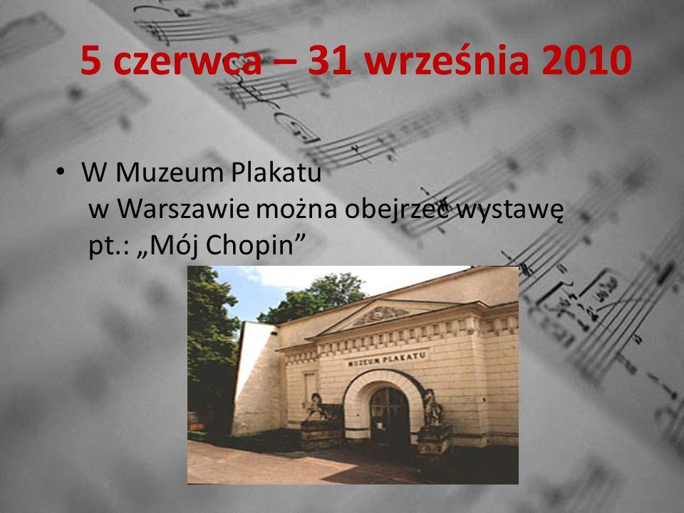 11-13 czerwca 2010 W Teatrze Wielkim impreza muzyczna Chopin Open