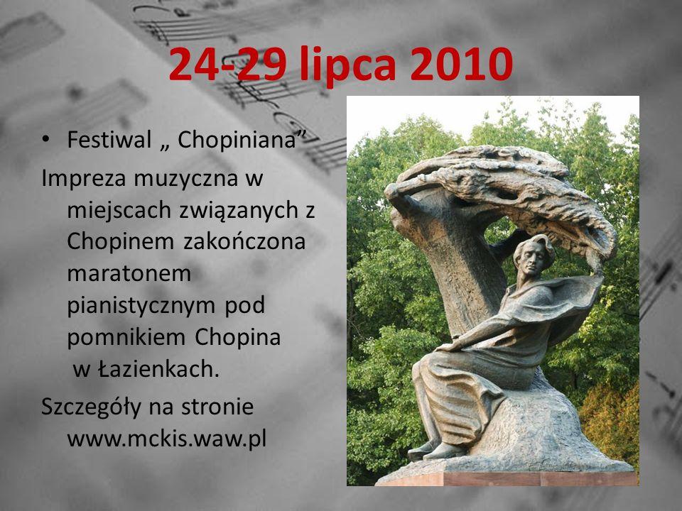 1 sierpnia 2010 Inauguracja wyścigu kolarskiego Tour de Pologne w Żelazowej Woli