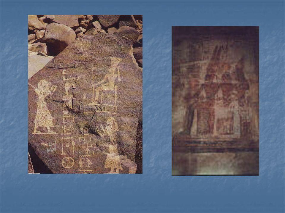Bogowie Egiptu ATUM - przedstawiany w postaci mężczyzny z koroną faraonów na głowie.