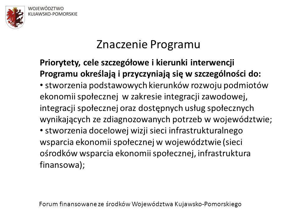Znaczenie Programu cd.