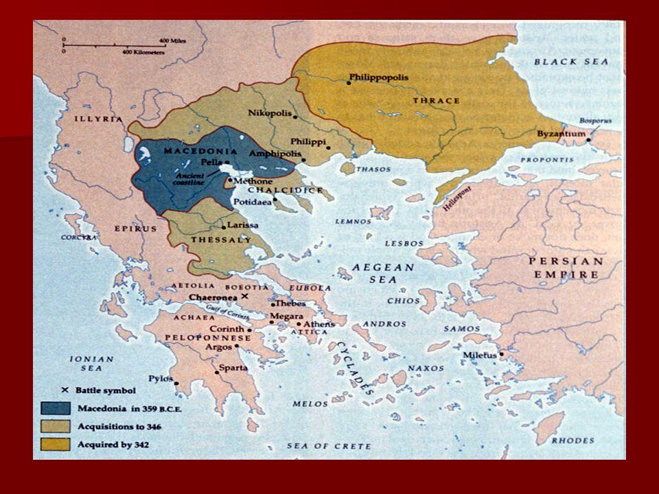 Macedonia na kartach historii Macedonia wkracza do historii Grecji w okolicznościach wojen z Persami.