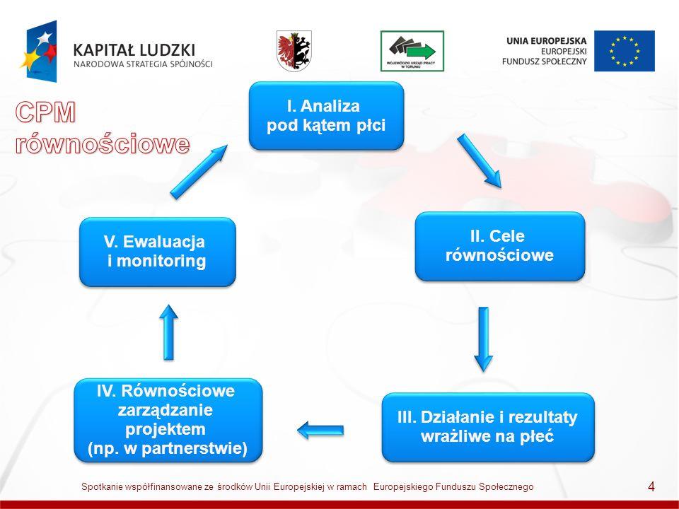 5 Spotkanie współfinansowane ze środków Unii Europejskiej w ramach Europejskiego Funduszu Społecznego