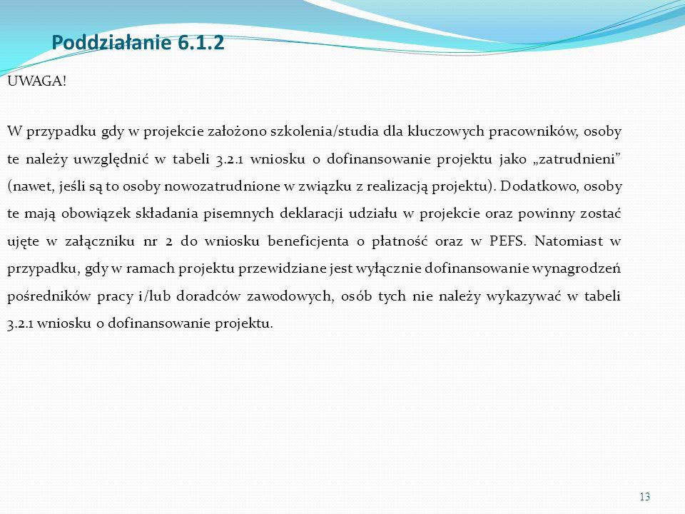 14 Wniosek o dofinansowanie projektu powinien zostać sporządzony z wykorzystaniem aktualnej aplikacji Generatora Wniosków Aplikacyjnych dostępną z poziomu przeglądarki internetowej, pod adresem https://www.generatorwnioskow.efs.gov.pl oraz www.